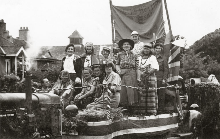 Lymington Carnival_Lymington British Legion_Womens Section c1955